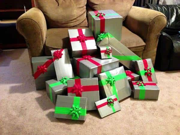 23 photos qui montrent que l 39 on peut vraiment tout r parer - Comment emballer des cadeaux ...