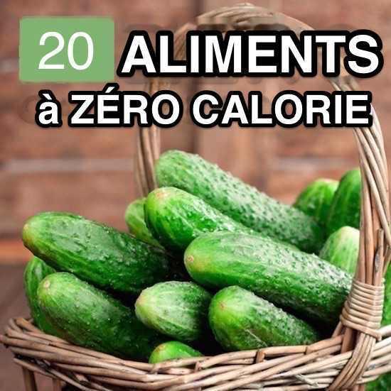 20 aliments zero calorie pour vous aider perdre du poids. Black Bedroom Furniture Sets. Home Design Ideas