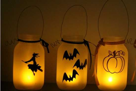 29 fa ons ing nieuses d 39 utiliser des bocaux en verre pour halloween. Black Bedroom Furniture Sets. Home Design Ideas