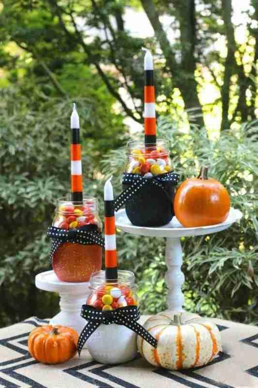 29 fa ons ing nieuses d 39 utiliser des bocaux en verre pour - Comment faire des decoration pour halloween ...