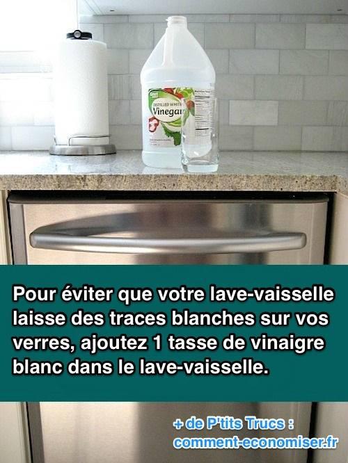 votre lave vaisselle laisse des traces blanches sur vos verres voici quoi faire. Black Bedroom Furniture Sets. Home Design Ideas