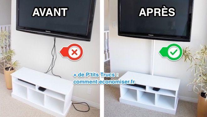 Cacher Les Cables Tv