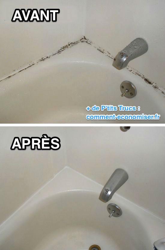 Nettoyer moisissure salle de bain 28 images enlever la for Nettoyer la salle de bain avec du bicarbonate de soude