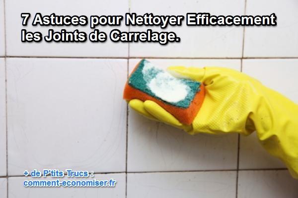 7 astuces pour nettoyer efficacement les joints de carrelage - Nettoyer joint silicone salle de bain ...
