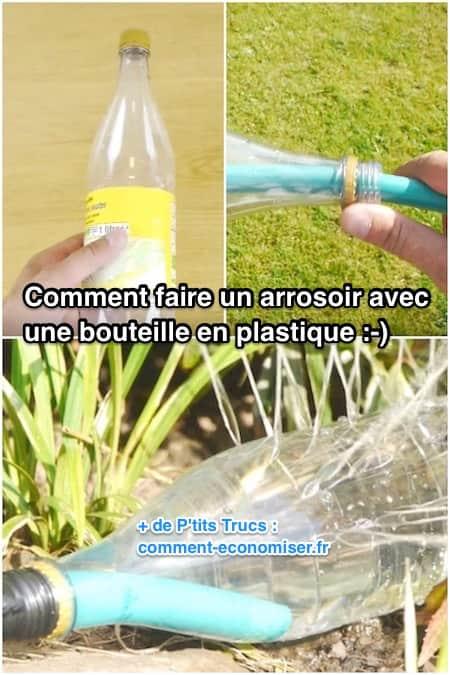 comment faire un arrosoir de jardin avec une simple bouteille en plastique vid o. Black Bedroom Furniture Sets. Home Design Ideas