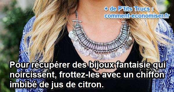 Produit Pour Nettoyer Les Bijoux Fantaisie : Comment je r?cup?re mes bijoux fantaisie qui noircissent