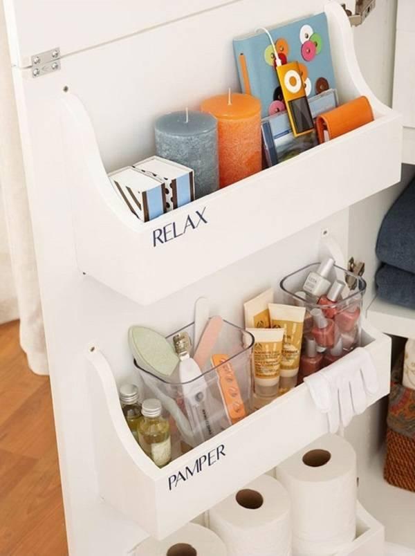 12 super id es de rangement pour mieux organiser votre salle de bain - Idee rangement placard ...