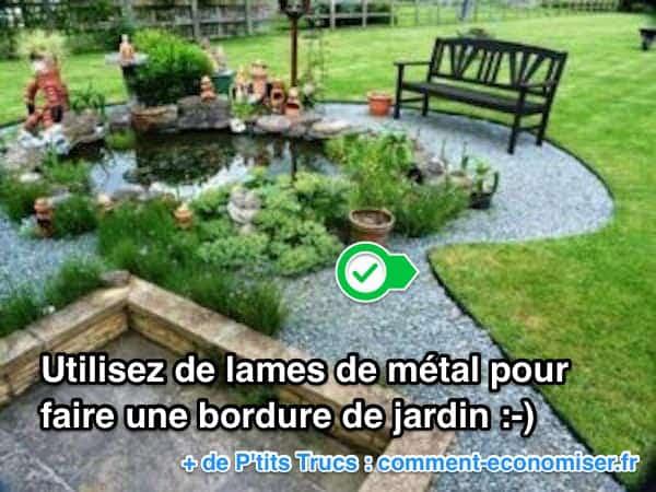 11 superbes bordures de jardin que vous aimeriez bien avoir la maison - Bordure de jardin metal ...