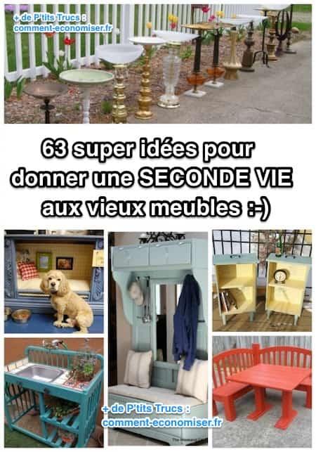 63 super id es pour donner une seconde vie aux vieux meubles - Reprise de vieux meubles ...