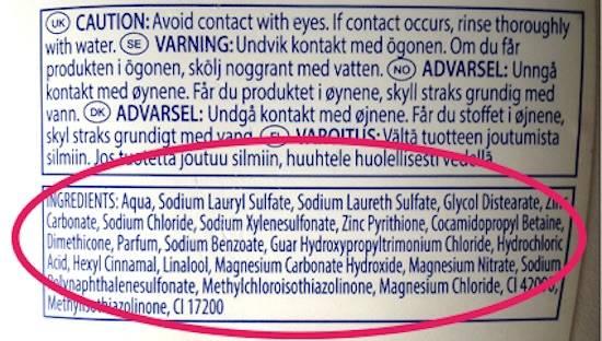 Les substances nocives que votre produit cosmétique est susceptible de contenir