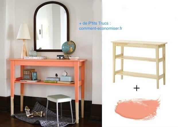 19 astuces pour rendre vos meubles ikea chics tendance - Peinture pour meuble ikea ...