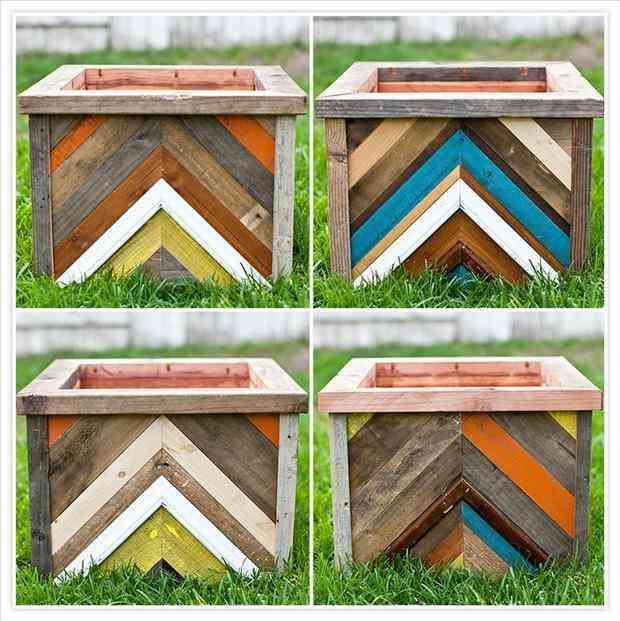 24 utilisations incroyables de vieilles palettes en bois for Exterieur creative box