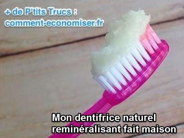 ma recette du dentifrice maison pour des dents plus saines et plus blanches. Black Bedroom Furniture Sets. Home Design Ideas
