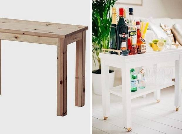 Table console cuisine ikea - Table d appoint ikea ...