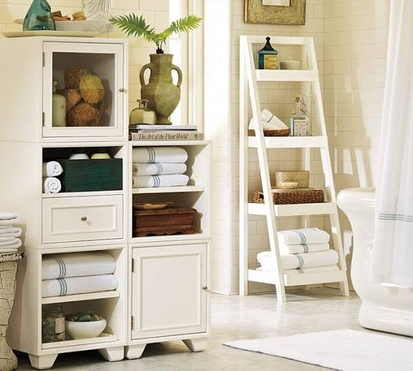 12 super id es de rangement pour mieux organiser votre salle de bain. Black Bedroom Furniture Sets. Home Design Ideas